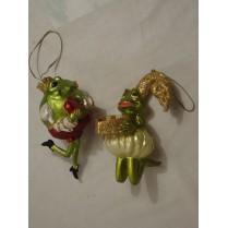 Julepynt: Frøprinsen og hans frøprinsesse